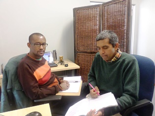 melisew and sriram finalising